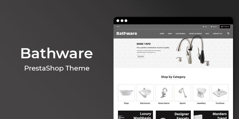 BathWare - Premium Bath Ware Responsive Prestashop Theme