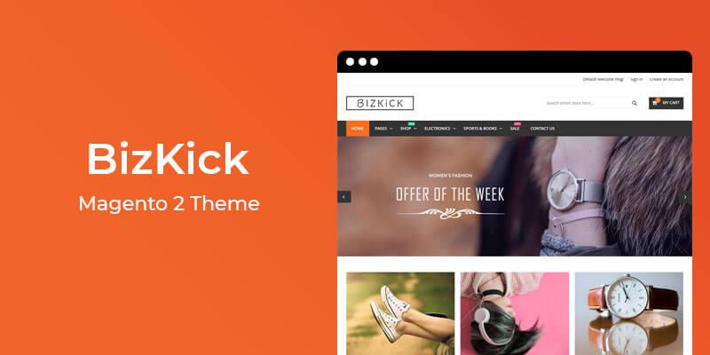 BizKick – Free Responsive Magento 2 Theme