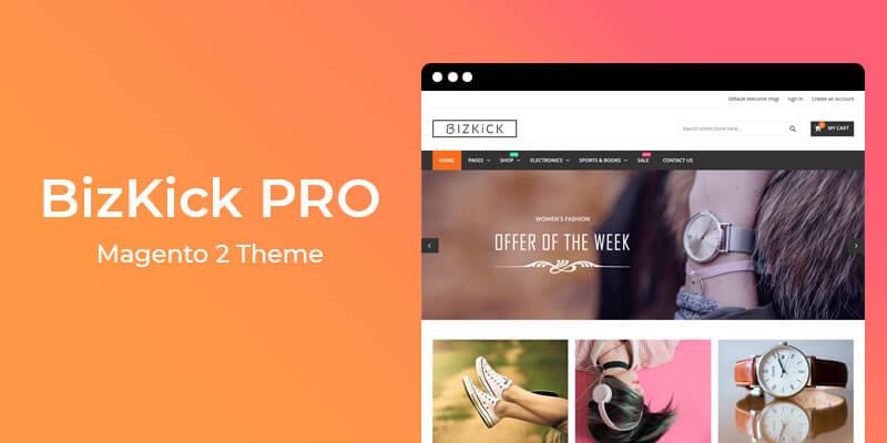 BizKick PRO – Premium Responsive Theme for Magento® 2
