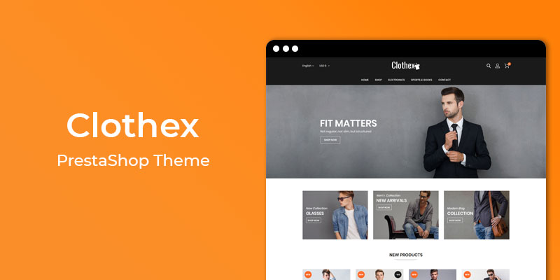 Clothex - Fashion Responsive Prestashop Theme