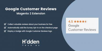Google Customer Reviews - Magento 2 Extension
