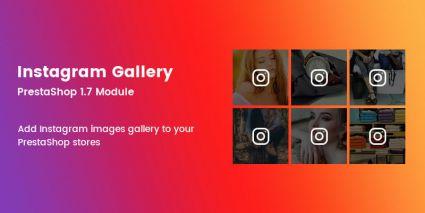 Instagram Gallery Prestashop Module