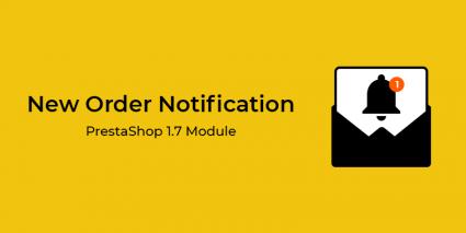 New Order Notification PrestaShop Module