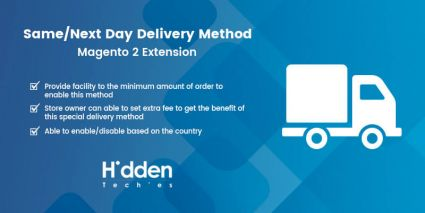 Same / Next Day Delivery Shipping Method - Magento 2 Extension