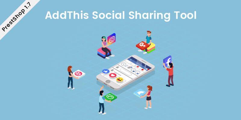 AddThis Social Sharing Tool - Prestashop Module