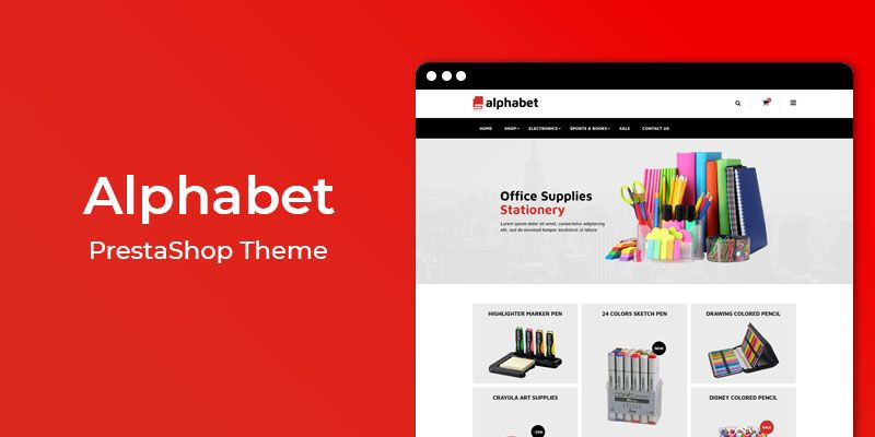 Alphabet – Multipurpose Responsive PrestaShop Theme