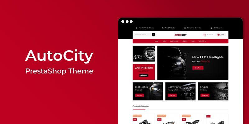 AutoCity - Auto Store Responsive Prestashop Theme