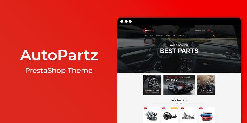 AutoPartz - Premium Auto Parts Responsive Prestashop Theme