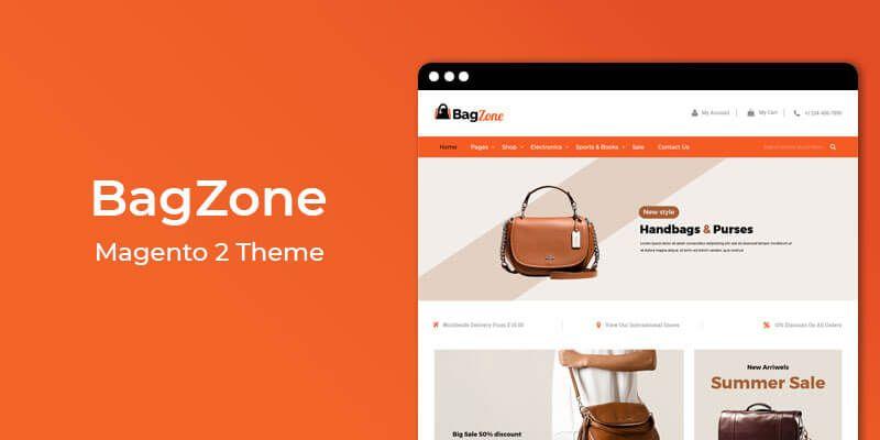 BagZone – Multipurpose Responsive Magento 2 Theme