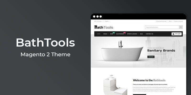 BathTools - Responsive  Magento 2 Theme