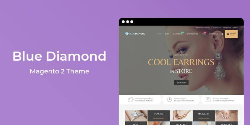 Blue Diamond - MultiPurpose Responsive Magento 2 Theme