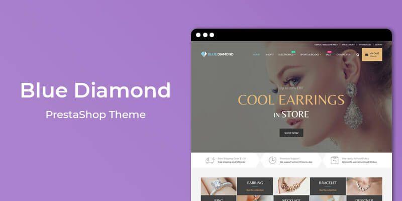 Blue Diamond - MultiPurpose Responsive Prestashop Theme