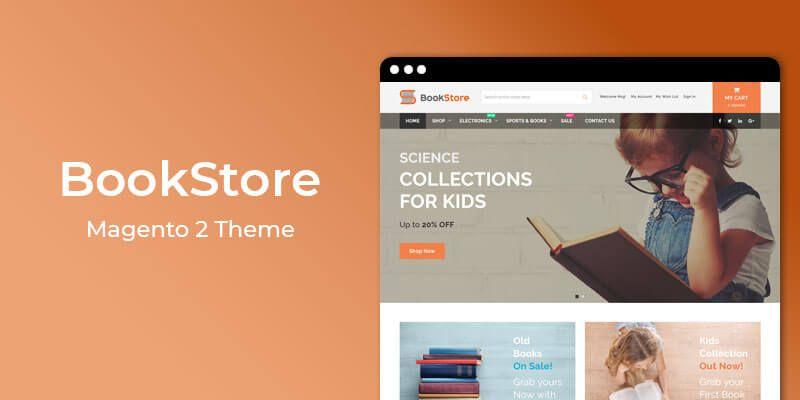BookStore Responsive Magento 2 Store