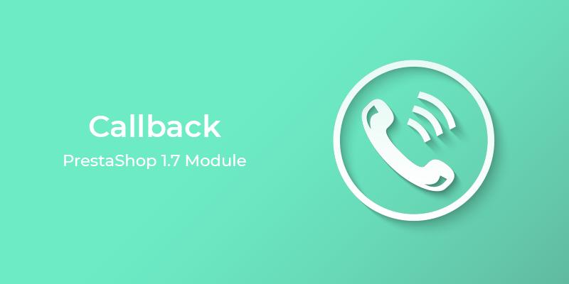 Callback PrestaShop Module