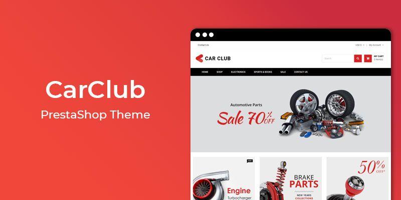 CarClub - Premium Auto Store Responsive Prestashop Theme