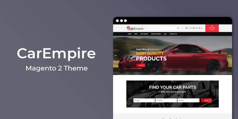 CarEmpire - MultiPurpose Responsive Magento 2 Theme