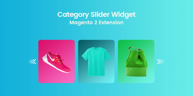 Category Slider Widget - Magento 2 Extension