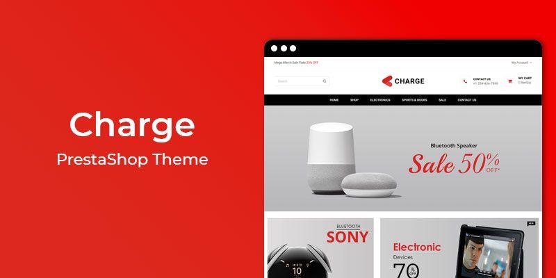Charge - MultiPurpose Responsive Prestashop Theme