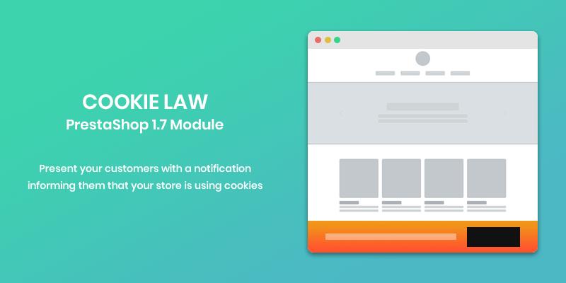 Cookie Law PrestaShop Module