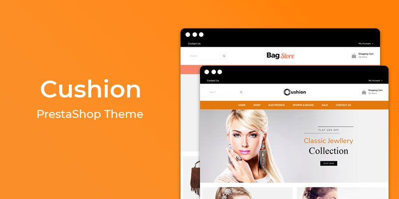 Cushion - Jewelry Store Responsive Prestashop Theme