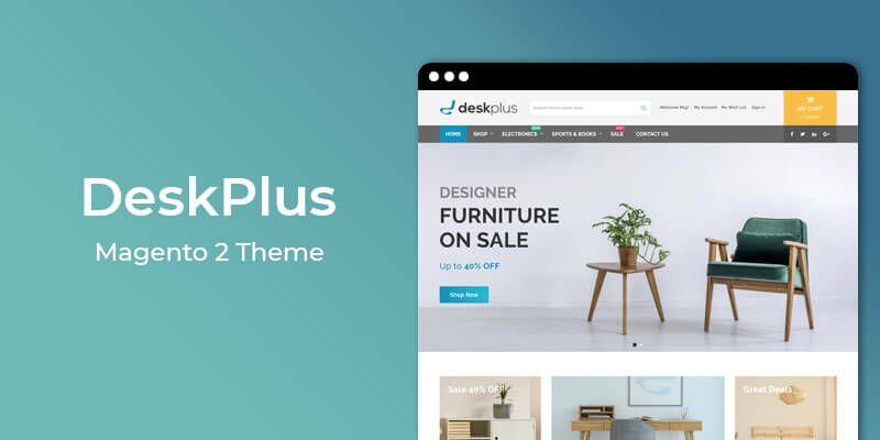 DeskPlus - MultiPurpose Responsive Magento 2 Theme