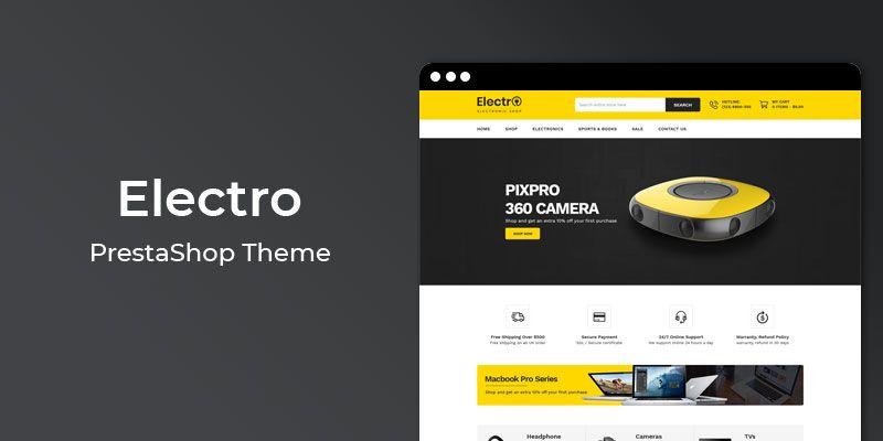 Electro - MultiPurpose Responsive Prestashop Theme