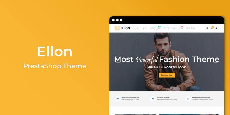 Ellon - MultiPurpose Responsive Prestashop Theme