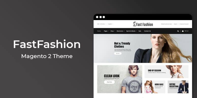 FastFashion – Multipurpose Responsive Magento 2 Theme