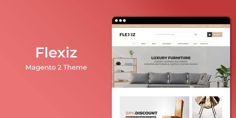 Flexiz - Furniture & Home Decor Magento 2 Theme
