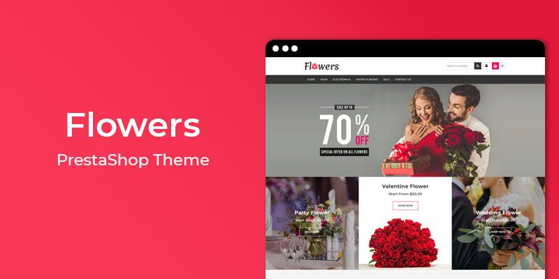 Flowers - MultiPurpose Responsive Prestashop Theme