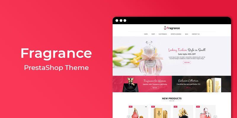 Fragrance - Premium Responsive Prestashop Theme