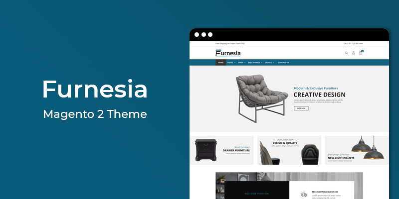 Furnesia - Furniture Store Responsive Magento 2 Theme
