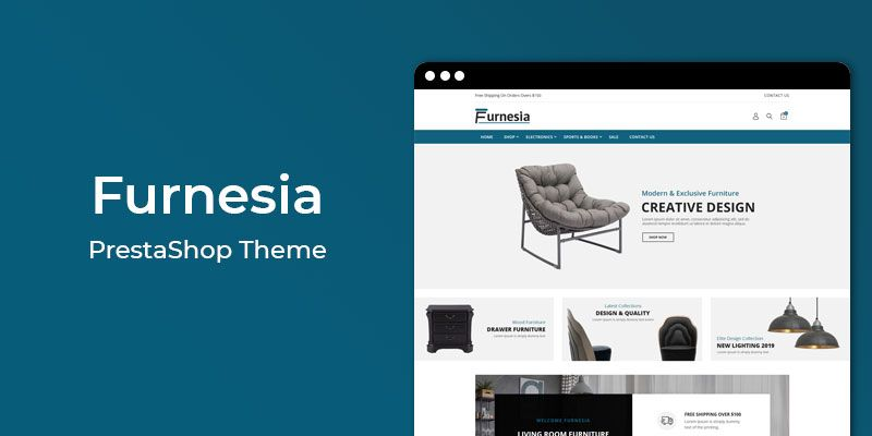 Furnesia - Responsive Furniture Prestashop Theme