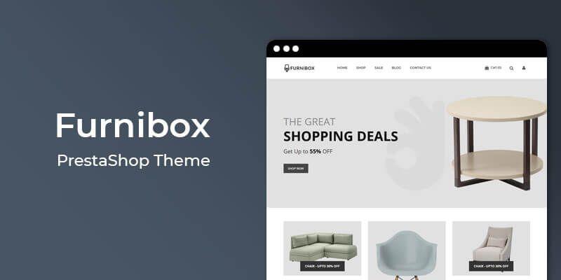Furnibox - MultiPurpose Responsive Prestashop Theme