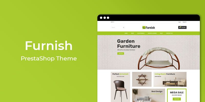 Furnish - Responsive Furniture Prestashop Theme