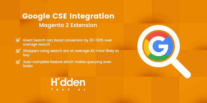 Google CSE Integration - Magento 2 Extension
