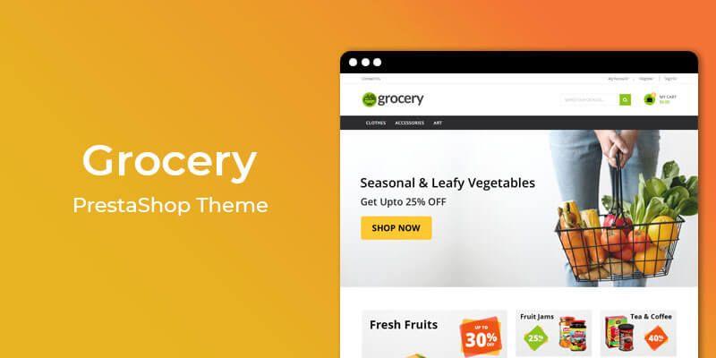 Grocery - Premium Grocery Store Prestashop Theme