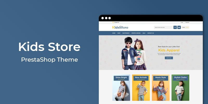 Kids Store - Online Fashion Responsive Prestashop Theme