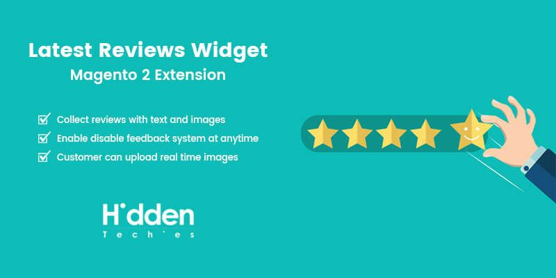 Latest Reviews Widget - Magento 2 Extension