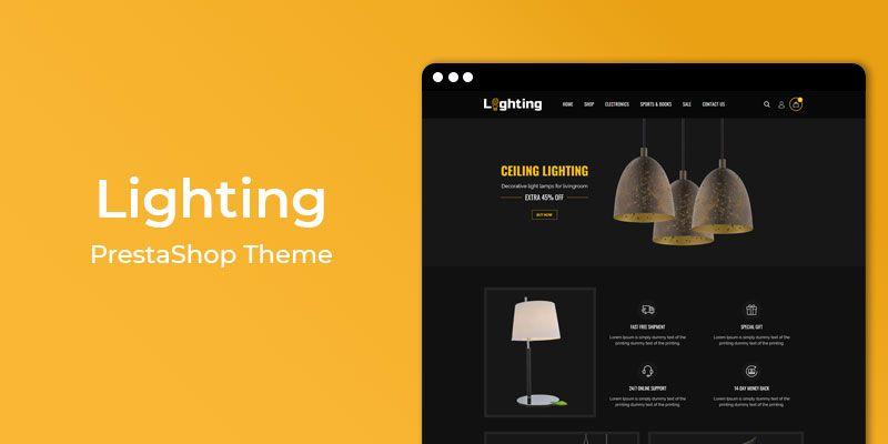 Lighting -  MultiPurpose Responsive Prestashop Theme
