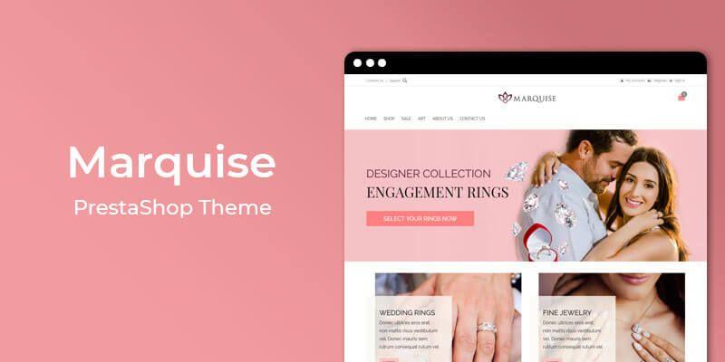 Marquise - Jewelry Store Responsive Prestashop Theme