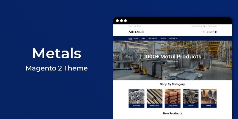 Metals- Multipurpose Magento 2 Theme