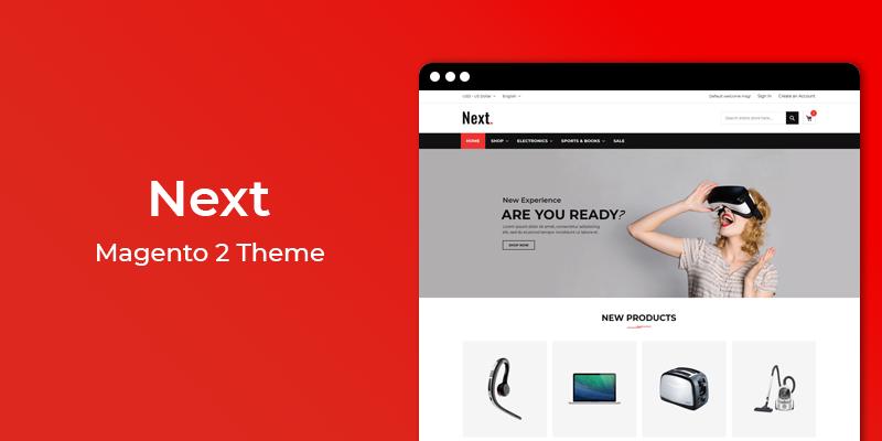 Next – Free Magento 2 Theme