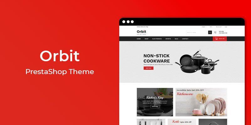 Orbit – Multipurpose Responsive PrestaShop Theme
