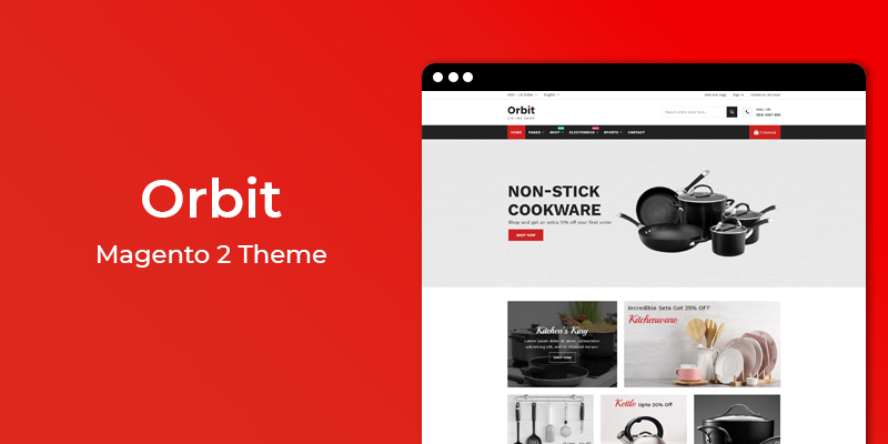 Orbit - Kitchen Store Magento 2 Theme