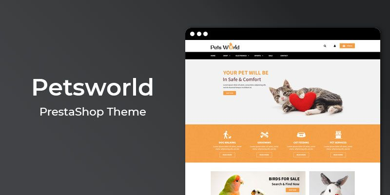 Petsworld PrestaShop Theme