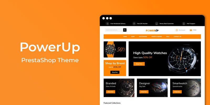 PowerUp - MultiPurpose Responsive Prestashop Theme