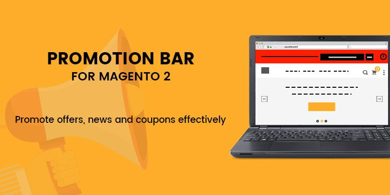 Promotion Bar Magento 2 Extension