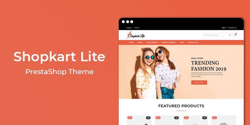 Shopkart Lite – Free Responsive Prestashop Theme