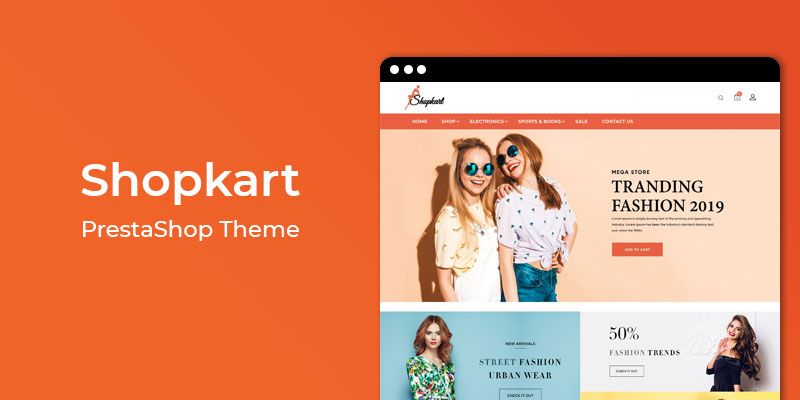 Shopkart - Fashion Responsive Prestashop Theme